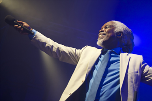 8th July 2017—Billy Ocean at Lincoln Castle